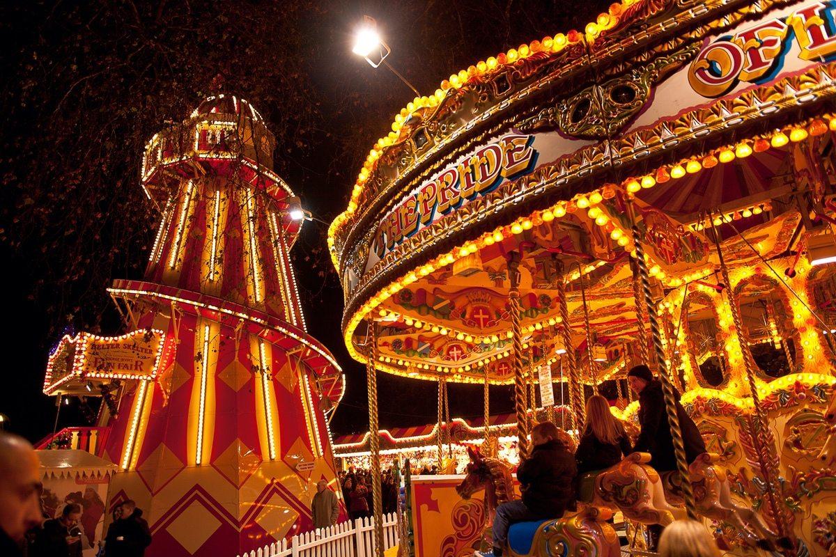 Romantic London Christmas Markets