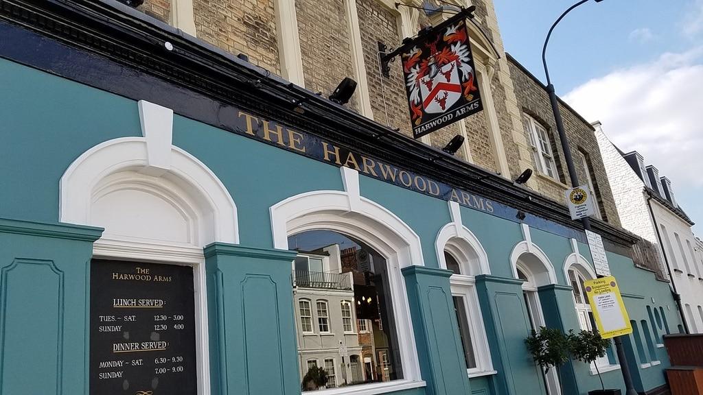 Harwood Arms Gastropub London